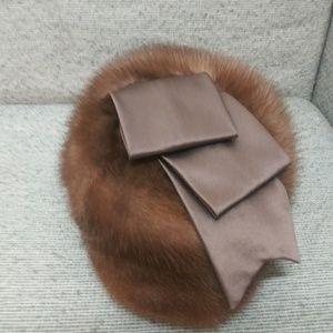 """Vintage Gidding """"Sincerely Jenny """" mink hat"""